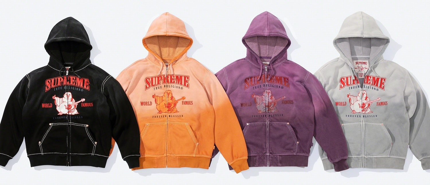 Supreme x True Religion Fall 2021 collection brings Y2K fashion back to the spotlight 19