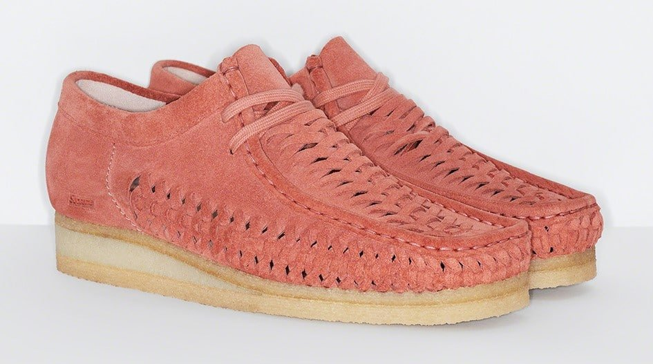 Supreme and Clarks Originals team up for a Woven Wallabee collection 17