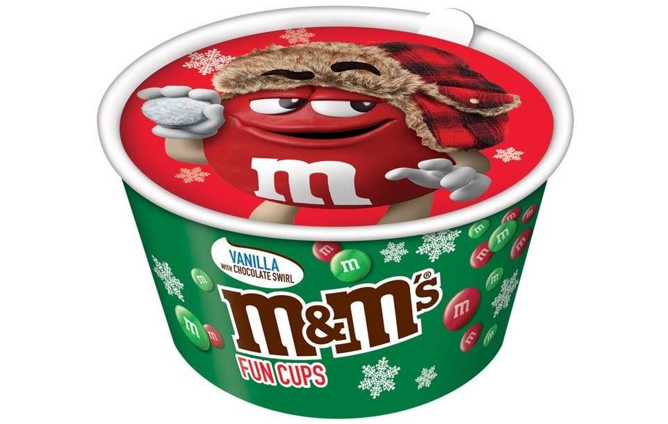 M&M's Ice Cream kicks off the holiday season with Christmas-themed fun cups 14