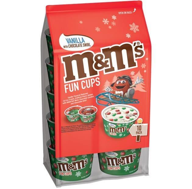 M&M's Ice Cream kicks off the holiday season with Christmas-themed fun cups 15