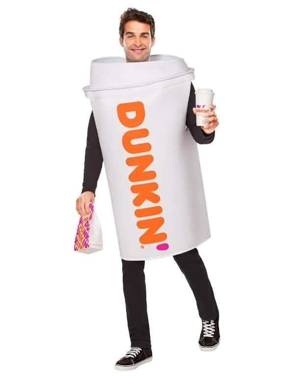 Adult Dunkin' Hot Coffee Costume