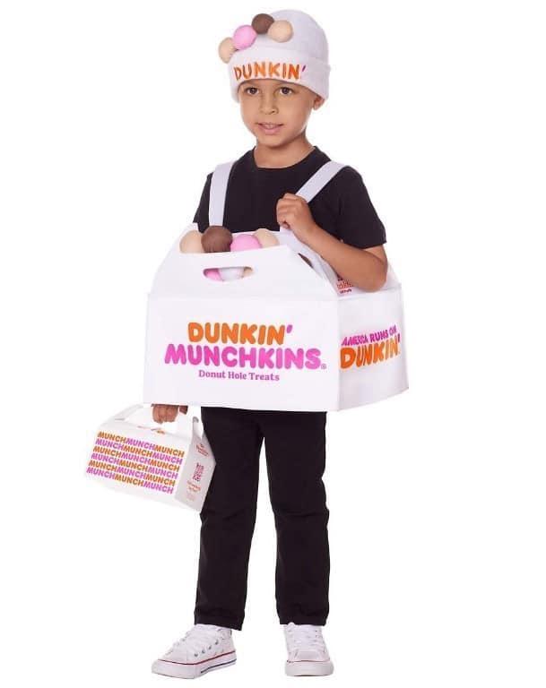 Child Munchkins Donut Hole Treats Box Costume