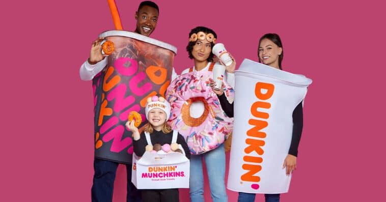 Dunkin' Donuts Halloween costumes