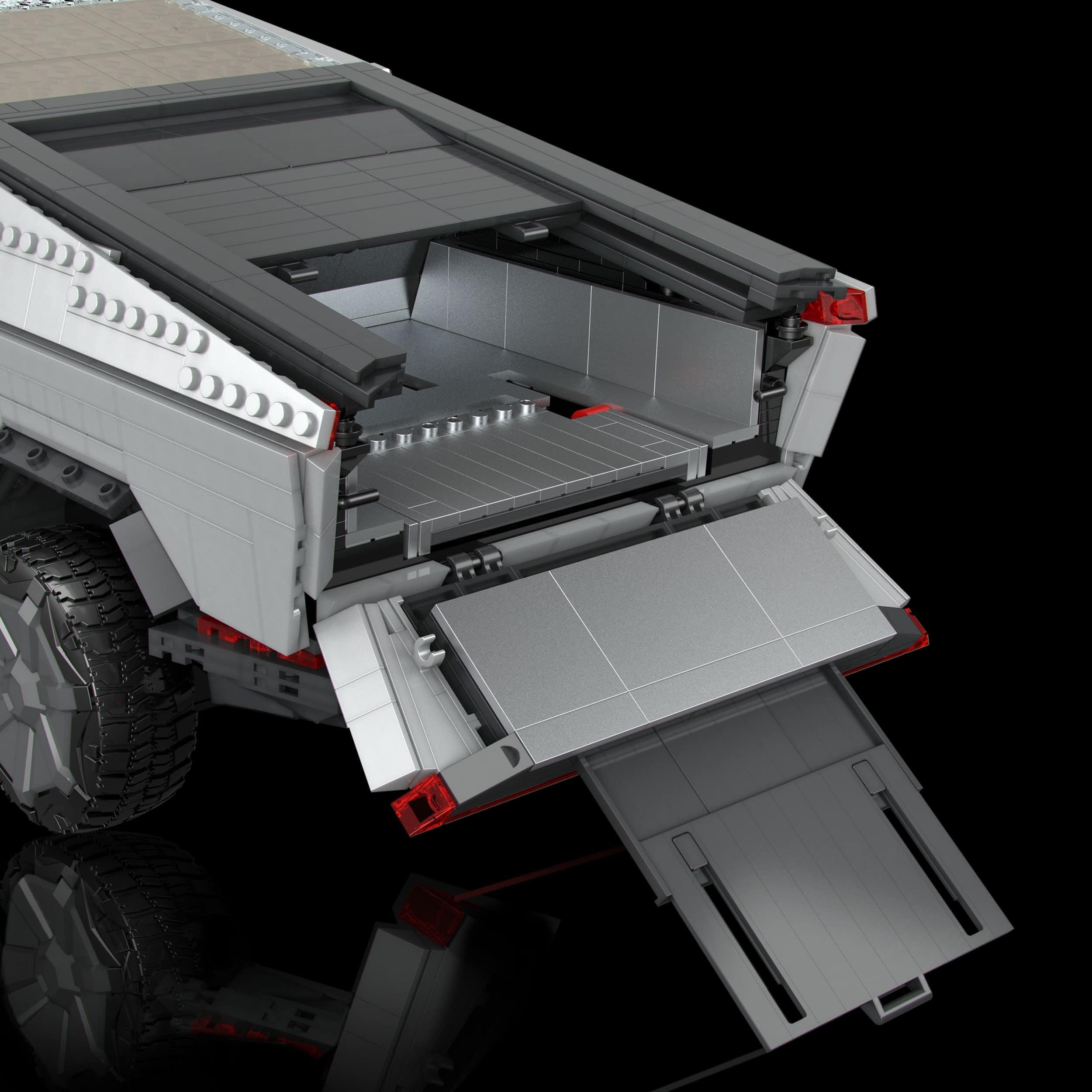 MEGA creates a buildable Tesla Cybertruck 16
