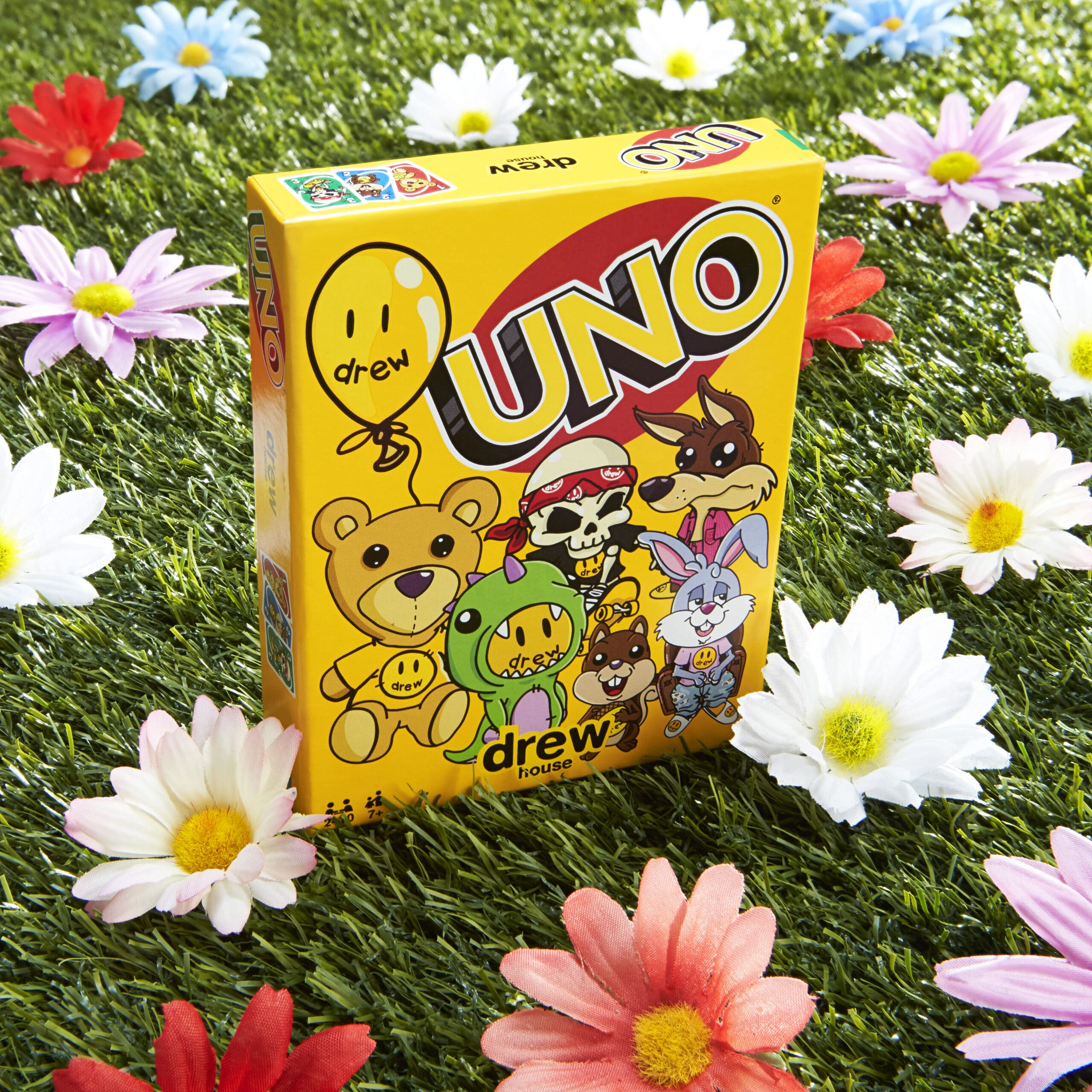UNO teams up with Justin Bieber's drew house for a limited-edition card deck 16