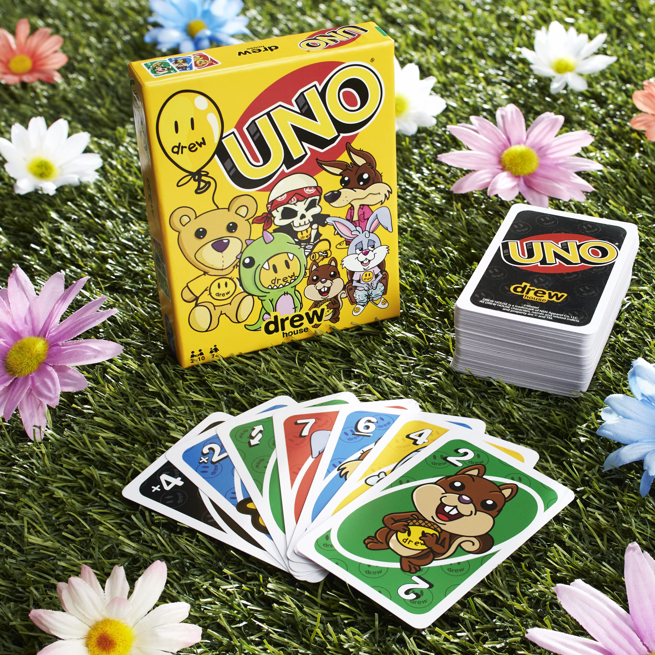 UNO teams up with Justin Bieber's drew house for a limited-edition card deck 14