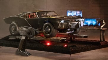 The Batman's Batmobile gets an extremely detailed replica from Hot Wheels 18