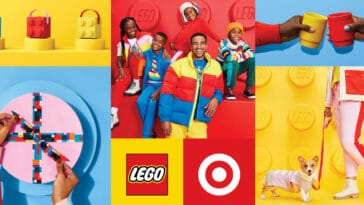 Target is dropping a lifestyle collection inspired by LEGO 14