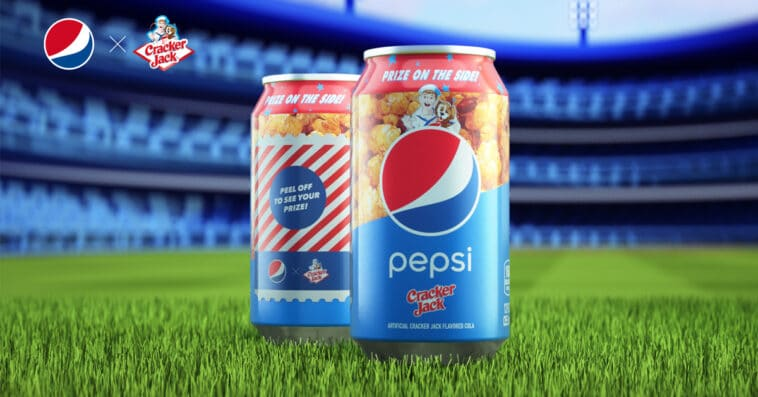 Pepsi is giving away Cracker Jack-flavored cola for free 13