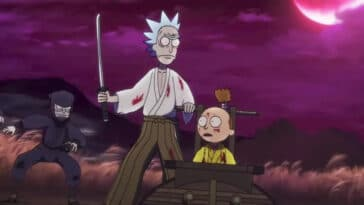 Rick and Morty horror short 2021