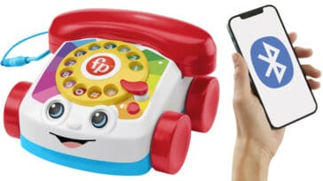 Fisher-Price Chatter Telephone is now a real mobile phone 15