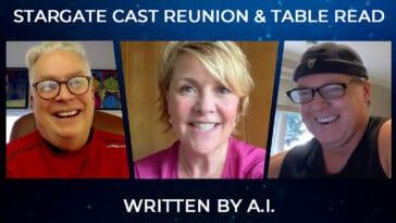 Stargate SG-1 and Stargate Atlantis alums reunite for Stargate A.I. 2
