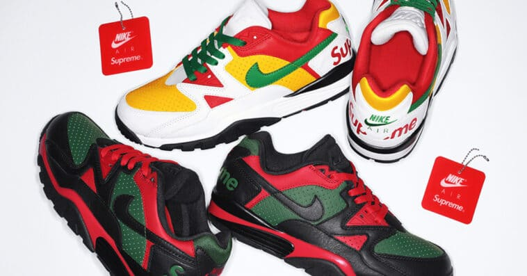 The Supreme x Nike Cross Trainer Low is finally arriving this October 14