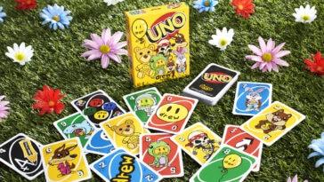 UNO x drew house card deck