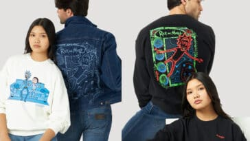 Wrangler drops its second Rick and Morty collection 22