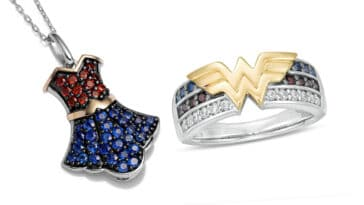 Celebrate Wonder Woman's 80th anniversary with these exclusive jewelry from Zales 15