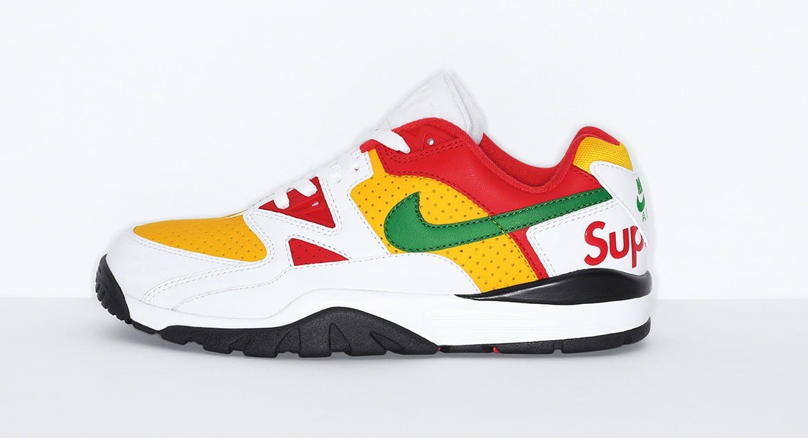 The Supreme x Nike Cross Trainer Low is finally arriving this October 18